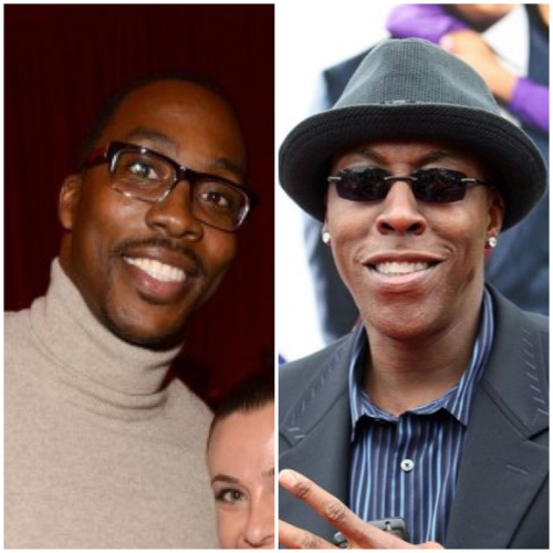 NBA look-a-likes: Dwight Howard & Arsenio Hall
