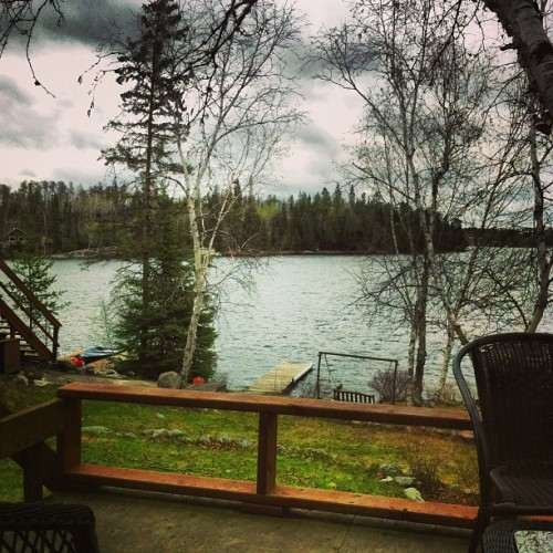 My beautiful view this weekend #cabin #Ingolf #longweekend #lovemylife