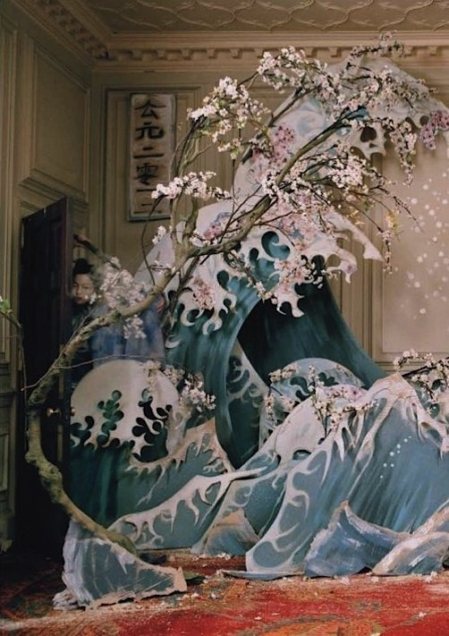 jeou:  magical thinking, liu wen by tim walker for W magazine, march 2012