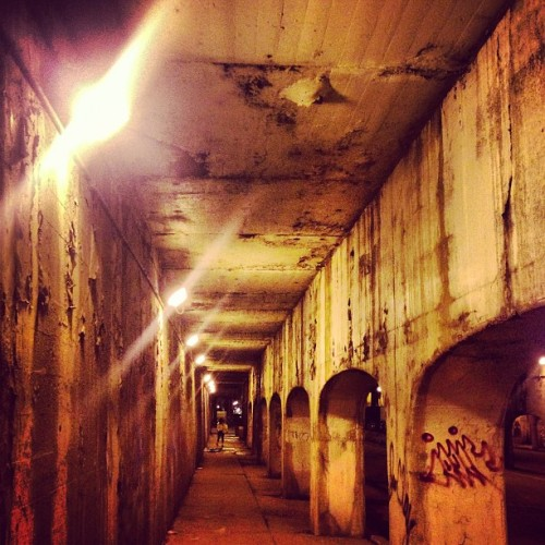 mayorgasmic:  Into the depths of hell #depths #distance #viaducts #NIN    (at Pilsen)