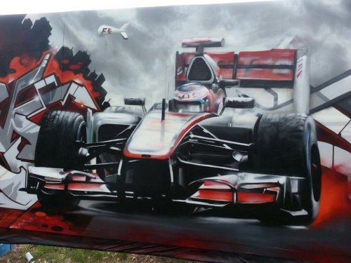 DVATE…Australian F1 Grand Prix…#dvate #f1 #grandprix #streetart #graffiti #aerosol #colourourcity #car #dope #awesome(from @colourourcity on Streamzoo)