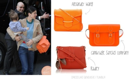 Affordable Dupes  Alexander McQueen | $2545 Cambridge Satchel Company | $160 Radley | £139 £109  You guyzz, I spotted this Radley one today whilst out shopping and thought hey I could be such a Gen wannabe with that, kind of bummed they don't do it in a brighter orange or I would own the hell out of that bag.