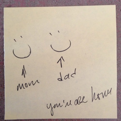 Smile on Post-It's