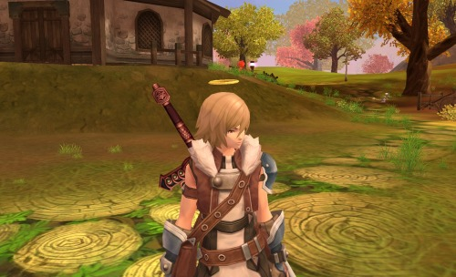 Lv.36 Warrior I am finally getting class gear!! I love furry collars!!! And I love warriors that weather leatherish stuff instead of heavy armor.
