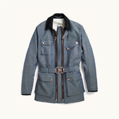 free-man:  Private White VC Chambray Twin Track Jacket
