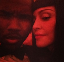 frank ocean and madonna being iconic