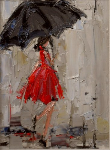 hoodoothatvoodoo:  Kathryn Trotter 'Dancing In The Rain 2'