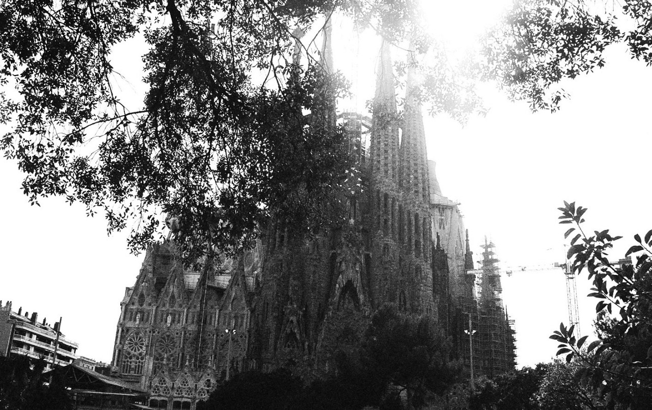 Sagrada Família and other images from Barcelona