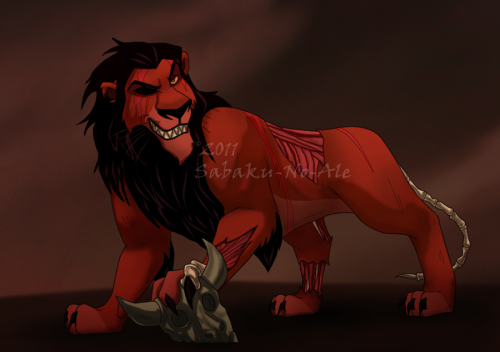 Wait a minute? What's Scar doing in a Kovu and Simba blog? Oh no, you know what this means…Scar's coming into the Kovu and Simba Series, bitches! I'm already working on a story with him in it. I'm just wondering if he's gonna be a major or a minor character. Anyway, look forward to seeing Scar soon! :D Credit Goes to: SilvertoneAnimals, Reenama, Sanio,  Akueriasu-no-Ale
