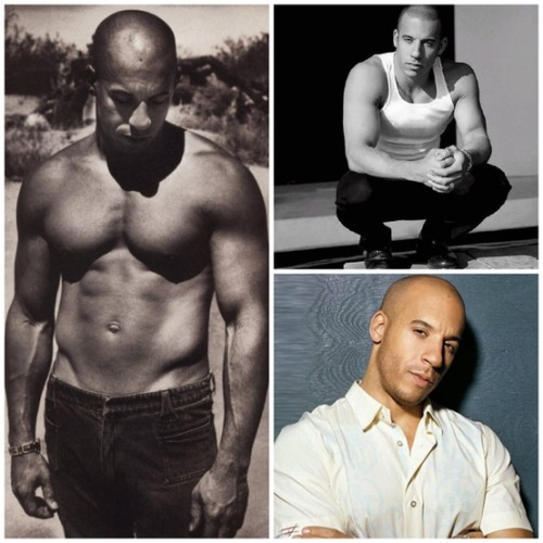 littlemissdee86:  Vin Diesel. Because why not?