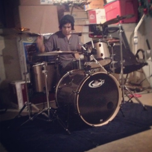 Say hi to our #drummer! (Sorry he doesn't have an instagram)