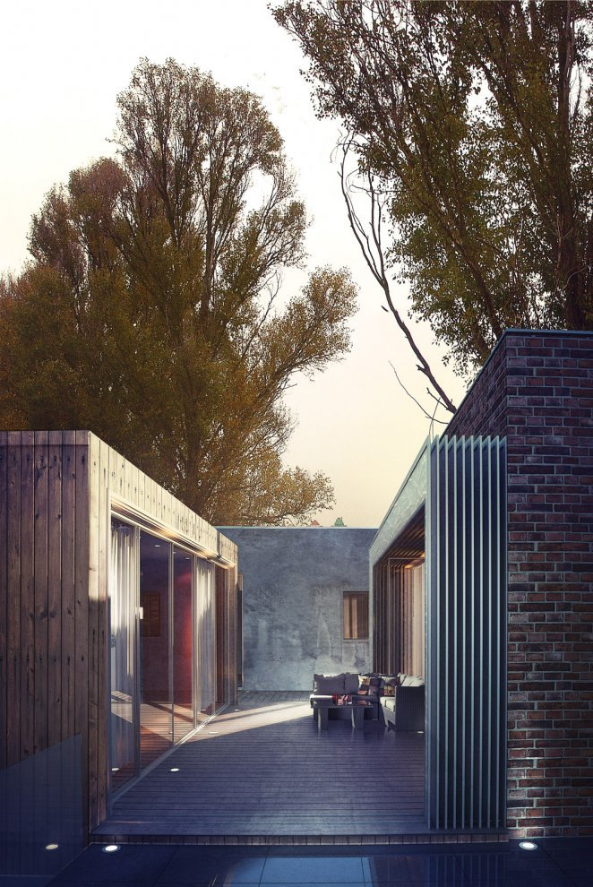 arkitekcher:  Cottage in Beroun | Sergey Prokofyev & Olga Prokofyeva Location: Beroun, Czech Republic
