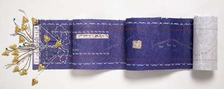 Happy #AustraliaDay! This #Torah binder references artist Sue Trytell's Jewish identity & her native Australia. Find out more here: http://ow.ly/h6Rv1