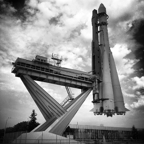 tishkovalex:  #Moscow #rocket #park #summer #travel #EAST