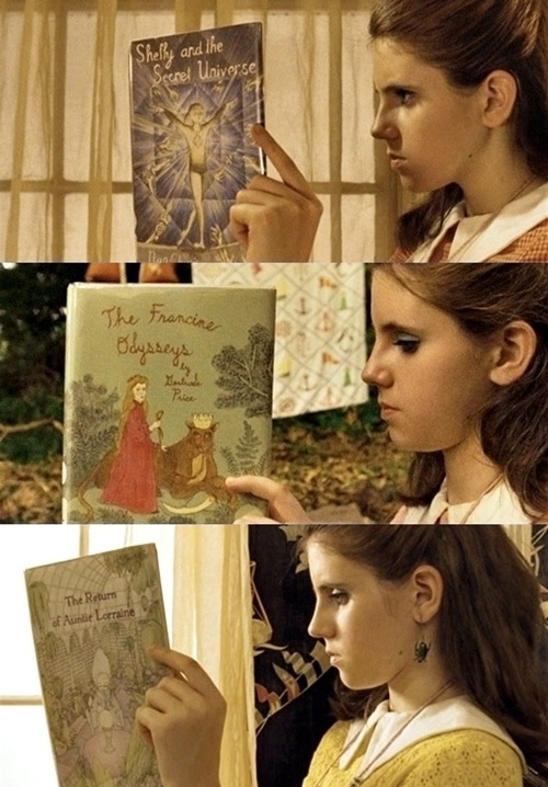 Feature Film || Moonrise Kingdom (2012) || Daytime reading with Suzy