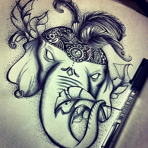 "Art work. ""Circus"" by: http://i-n-f-i-n-i-d-a-d.tumblr.com/ 
