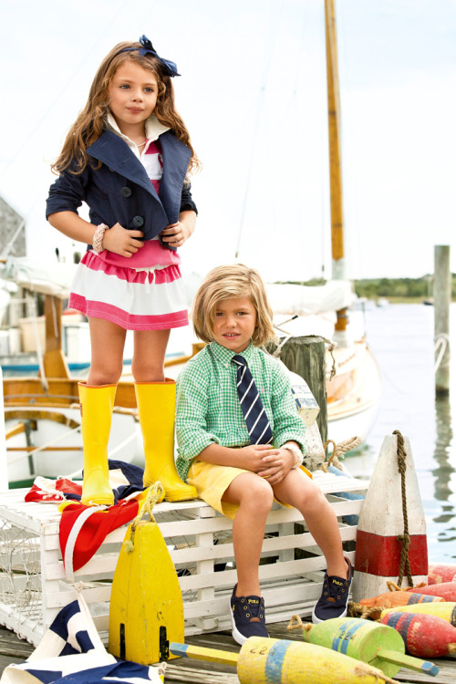 ralphlauren:   Ralph Lauren Childrenswear  A new take on nautical from RL Kids Explore Now