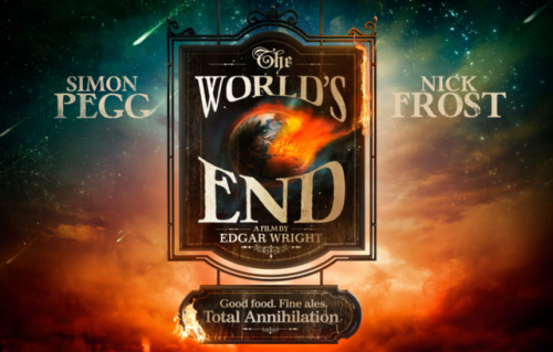 The World's End Trailer (spoiler: it looks awesome). laughingsquid:  The World's End, An Apocalyptic Comedy by Edgar Wright Starring Simon Pegg and Nick Frost