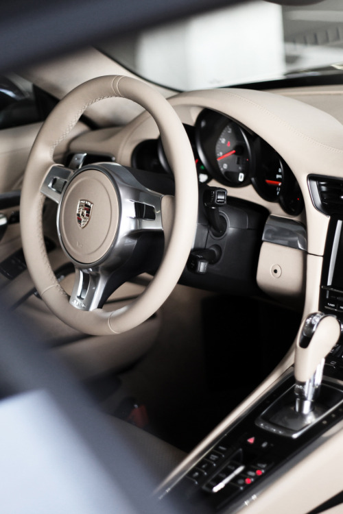 themanliness:   Porsche Interior | Source | More