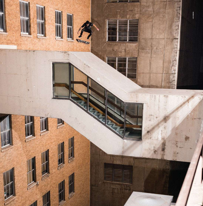 bobbyhillbomber:  Clint Walker//Nollie heel Photo: Hammeke