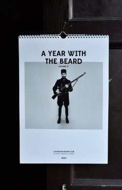 visualgraphic:  A Year With The Beard