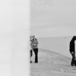 Blurry 35mm #endofroll #roll #35mm #pentax #camera #film #sea #end #lymeregis #throwback