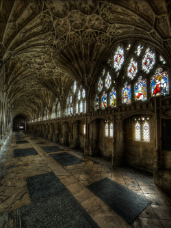 allthingseurope:  Gloucester Cathedral, UK (by Roland Shainidze)