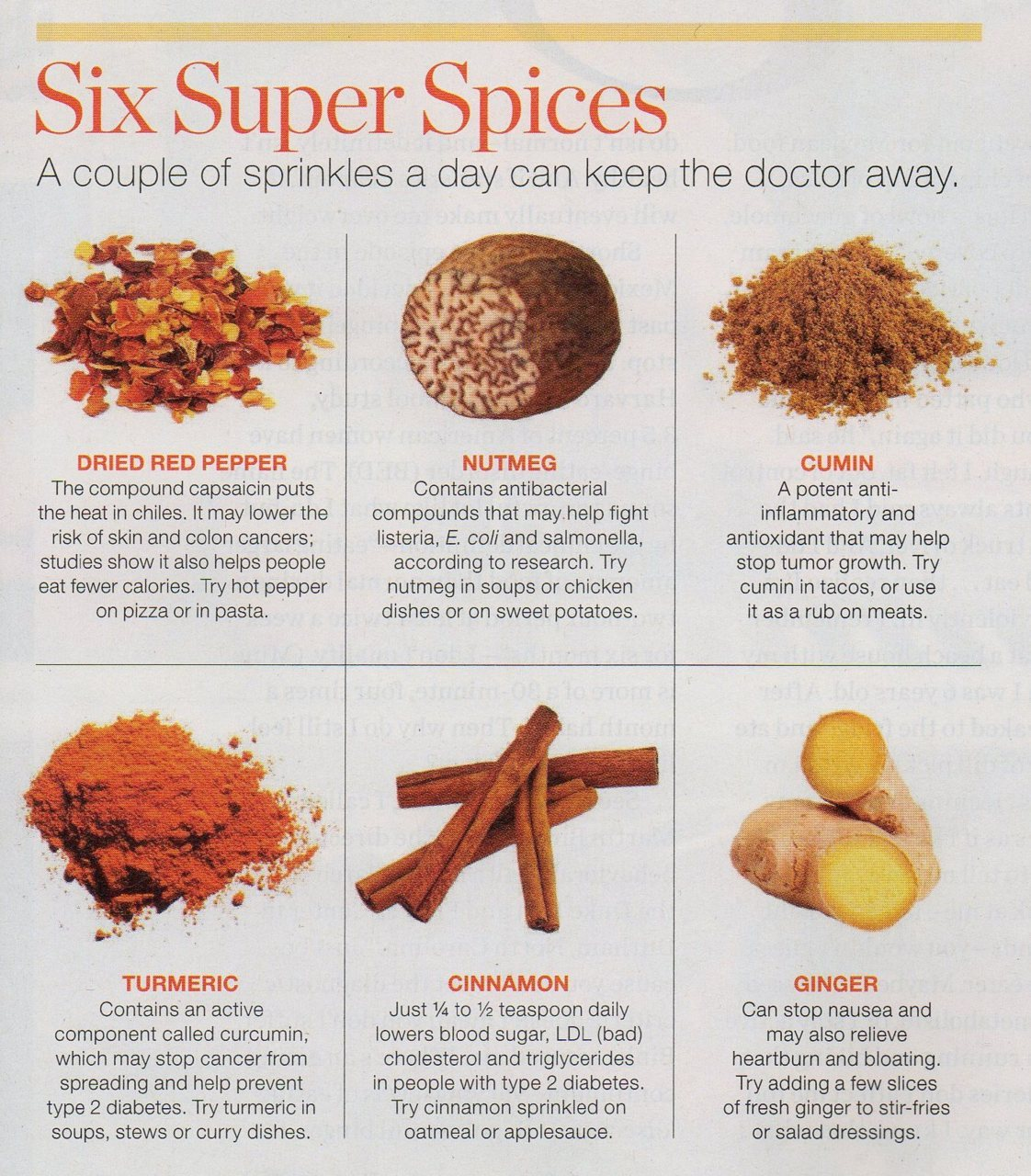 healthier-habits:  The benefits of different spices