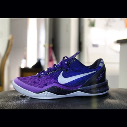 First pair of #nike #kobe 8 #playoffs #sneakers #kicks #purple