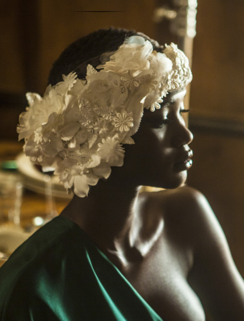 ellemuliarchyk:   Shooting the divine Ataui Deng for I Love You Magazine.