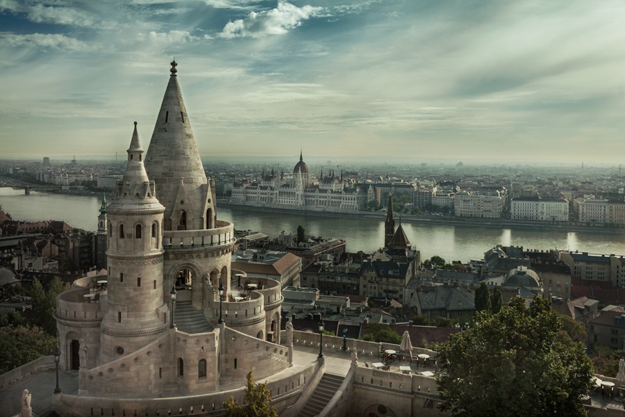 "castlesandkingdoms:  (via 500px / Photo ""Budapest"" by Steve Ashdown)"