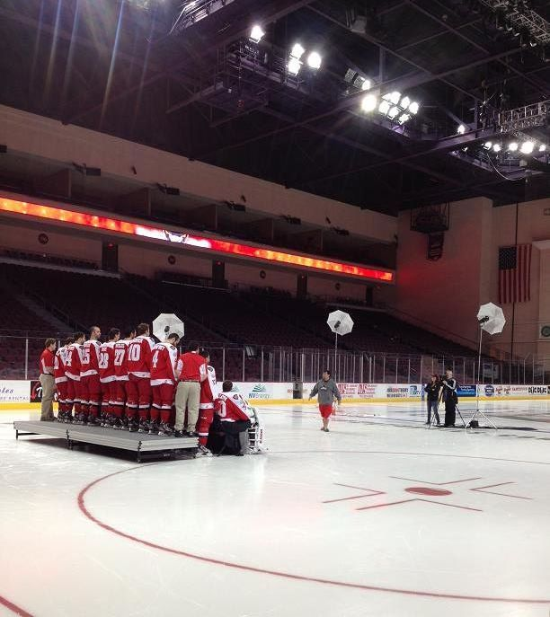 Las Vegas Wranglers getting their team photo