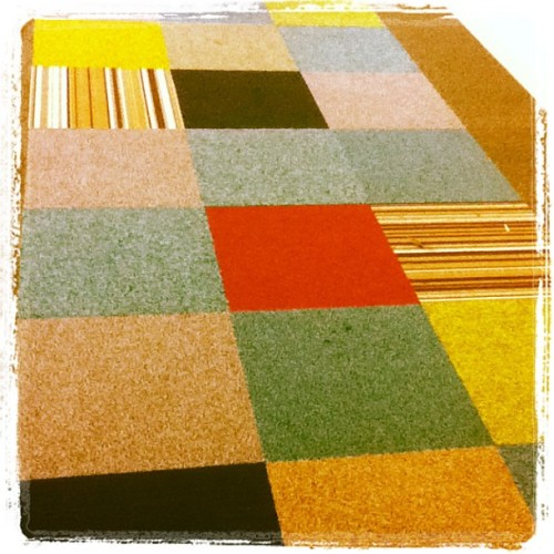 Carpet at Uni #ual #lcf  (at University of the Arts London (UAL))
