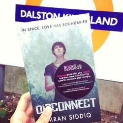 Today you'll find free copies of Imran Siddiq's Novel Diaconnect. But not only that, he's made it free for e-books too #booksontheunderground