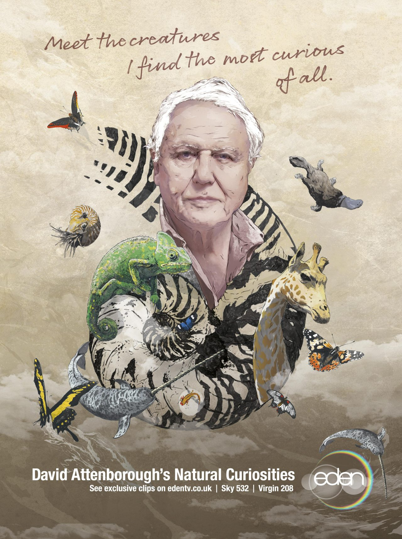 It's back! David Attenborough's Natural Curiosities is repeated today only on Eden!For more information on when each episode is on, head to our website.