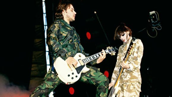 pinchetta:  James and Nicky - Reading & Leeds Festival 1994.