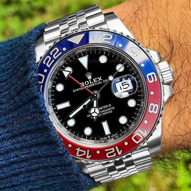 Rolex GMT 🔵🔴Pepsi