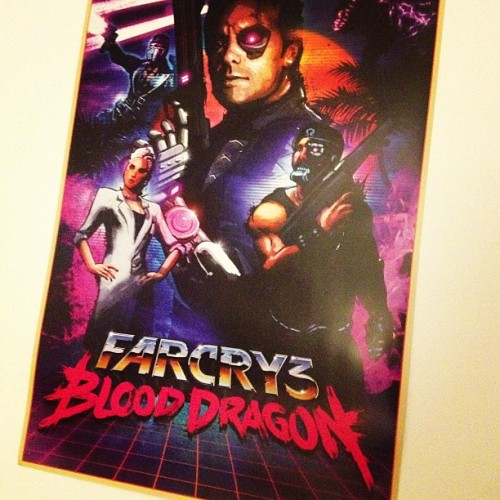 Awesome new poster courtesy of @signalnoise. #FarCry3 #BloodDragon