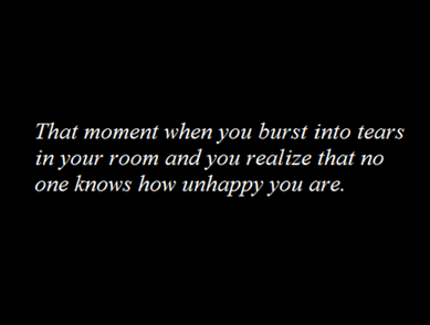 nobody knows.. :( | via Tumblr on @weheartit.com - http://whrt.it/Z4ggix