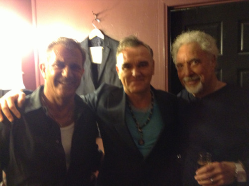 Mel Gibson, Morrissey, Tom Jones (West Hollywood, May 11, 2013)