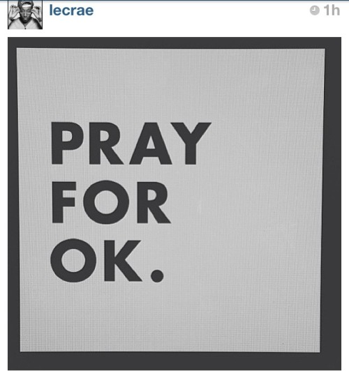 I follow Lecrae on IG, saw the post, and then watched the news… Father, I thank you for this day and for your abundant mercies you give us each day. Please allow those affected by the tornado in Oklahoma to turn to you for guidance, comfort, and help. Keep those who are selflessly giving their time and energy to rescue efforts protected and encouraged. The joy of the Lord is our strength despite what troubles rise. Let your will be done on this earth and through out my life. In Jesus name I pray and believe… Amen-