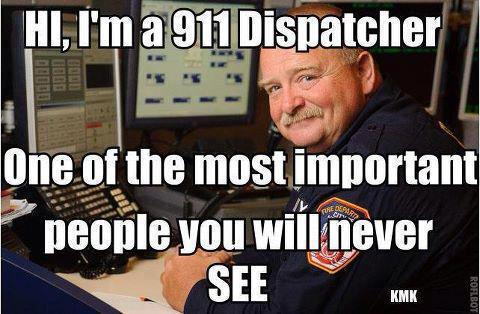 "asirens0ng:  youforcedmetorun:  policecars:  ""The 9-1-1 Dispatcher""  Yup.  I loooove our dispatchers, even when they get sassy with me. I have never ever questioned their concern"