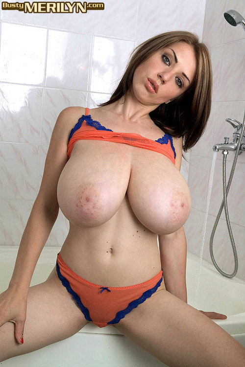 Merilyn sakova big boobs on glass