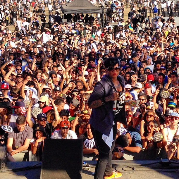 @JeanGreasy moved the crowd #PaidDues