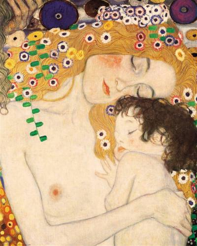 feliz  día Sylvia Elana Beltrán Arreola  mother of 3 childs Gustav Klimt(1905)