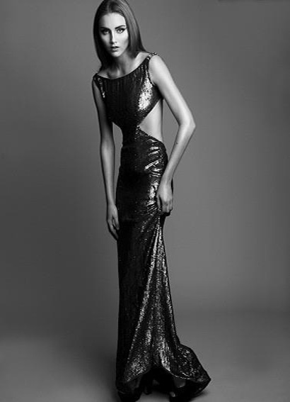 Hogan McLaughlin Spring 2013 gown in TWELV Magazine. Article here (X)