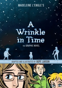 lareviewofbooks:  There's a new graphic novel version of Madeleine L'Engle's classic young adult novel A Wrinkle in Time. Jenna Brager takes a look:  A Wrinkle in Time is part of a subgenre of young adult literature in which ordinary, plain children are called upon to do brave, incredible things with the help of newfound powers, and then, inevitably grow up to be extraordinary, attractive adults. In my solitary fort, I ate it up (along with the chips and chocolate). I was Hermione Granger, frizzy-haired and mocked and too smart for my own good. I was Bastian Balthazar Bux from The Neverending Story, chubby and lonely and transported into an epic adventure through the pages of a book. I was Meg Murry, bespectacled, outcast, and misunderstood. Superimposing myself onto Meg, I tessered across the universe with witches who quoted Shakespeare, flew on the back of an angel, fought against the Black Thing shadowing Earth, saved my father and brother from a giant brain that turned people into living automatons, and was cradled in the arms of a kindly fur-covered tentacle beast. I grappled with my own fears, of losing my parents, of being unpopular, of the world ending. I thought about good and evil, about conformity and difference, about love and hate and the existence of God. (A Wrinkle in Time and its sequels, like The Chronicles of Narnia and The Lord of the Rings, has been read as Christian allegory, drawing upon biblical themes and sometimes quoting the Bible directly, though it is accessible to readers of any background.) Rereading L'Engle's classic today, I am astounded by the work that young-adult literature can do, the sophisticated places it takes our minds before we're old enough to realize just what is happening.  Click here to read the rest of the review.  It's like he read my mind. My mind has been wondering all week back to this invigorating novel of my childhood.