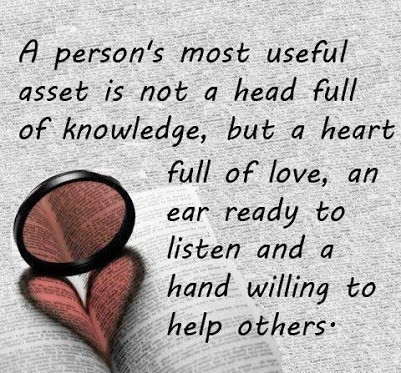 A person's most useful asset is a heart full of love  Follow best love quotes for more great quotes!