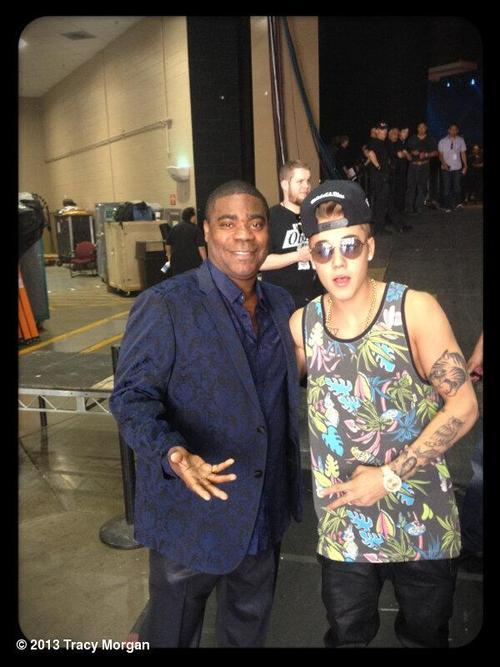 @RealTracyMorgan:My twin @justinbieber #bbma #vegas @billboard music awards