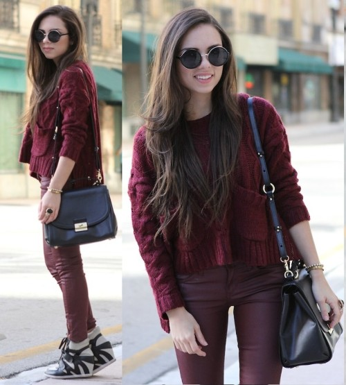 lookbookdotnu:  Going downtown… (by Daniela Ramirez)